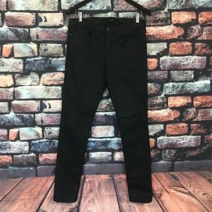 Joe's Jeans The Skinny Black Coated Pants